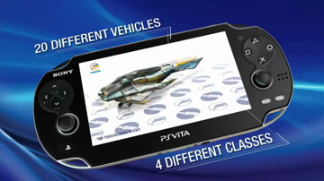 WipEout 2048 - PS Vita Launch Trailer