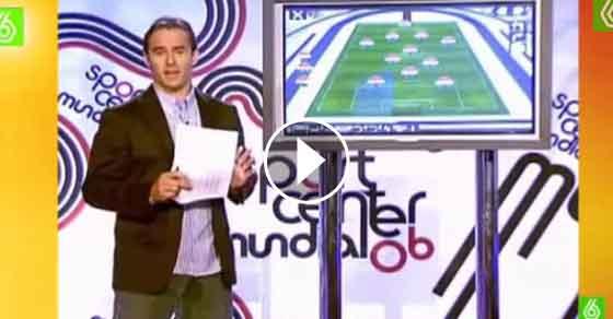 Julen Lopetegui, novo treinador do FC Porto, desmaia em directo na TV
