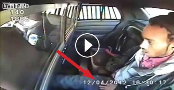 Polícia mete bêbedo no carro, não o algema e ele está armado e o que acontece depois...