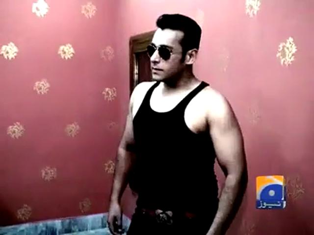 Salman Khan's ditto copy in Sialkot - Must Watch