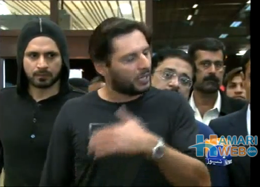 Shahid Afridi Called Shoaib Akthar And Mohammad Yousuf Hackle Jeckle And Mr.Been.